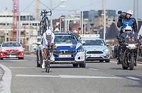 GC winner Philippe Gilbert (BEL/Quick Step Floors) during the ITT<br /> <br /> 3 Days of De Panne 2017<br /> afternoon stage 3b: ITT De Panne-De Panne (14,2km)