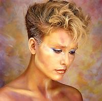 Body Painted Beauty Shot