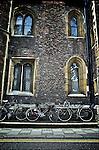 Windows in Cambridge university college England