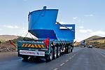Heavy Equipment On Roadway