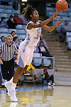09 November 2015: North Carolina's N'Dea Bryant. The University of North Carolina Tar Heels hosted the University of Mount Olive Trojans at Carmichael Arena in Chapel Hill, North Carolina in a 2015-16 NCAA Women's Basketball exhibition game. UNC won the game 99-45.