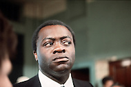 New York, NY, July 1972. Yaphet Kotto as the Lt. Pope in action during the shooting. - Across 110th Street is a 1972 American crime drama film directed by Barry Shear. Commonly associated with the blaxploitation genre at the time, it has received considerable critical praise for surpassing the limitations of that genre.