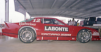 Terry Labonte's IROC car Winston 500 at Alabama International Motor Speedway in Talladega , AL on May 5, 1985. (Photo by Brian Cleary/www.bcpix.com)