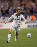 Toronto FC forward Chad Barrett (19). The New England Revolution defeated Toronto FC, 4-1, at Gillette Stadium on April 10, 2010.