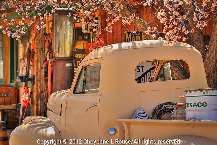 Mayberry Memories - New Mexico - Studebaker - Gas Pumps