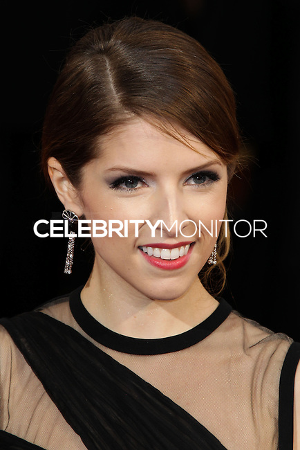 HOLLYWOOD, LOS ANGELES, CA, USA - MARCH 02: Anna Kendrick at the 86th Annual Academy Awards held at Dolby Theatre on March 2, 2014 in Hollywood, Los Angeles, California, United States. (Photo by Xavier Collin/Celebrity Monitor)
