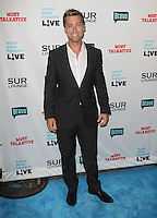 Lance Bass.Bravo's Andy Cohen's Book Release Party For &quot;Most Talkative: Stories From The Front Lines Of Pop Held at SUR Lounge, West Hollywood, California, USA..May 14th, 2012.full length black suit white shirt.CAP/ADM/KB.&copy;Kevan Brooks/AdMedia/Capital Pictures.