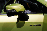 The New Subaru XV Crosstrek Hybrid Touring is exhibit at the 2015 New York International Auto Show in New York City. 04.06.2015. Kena Betancur/VIEWpress.
