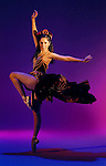 LEDE.Angelica Burgos, performs in the Sacramento Ballet production of &quot;Carman&quot; photographed in the Bee studio, Friday March 19, 2004..Sacramento Bee/  Brian Baer
