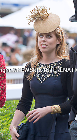 PRINCESS BEATRICE<br /> attend the Royal Meeting at Ascot on Ladies Day, Ascot Racecourse, Ascot_20/06/2013<br /> Mandatory Credit Photo: &copy;Dias/NEWSPIX INTERNATIONAL<br /> <br /> **ALL FEES PAYABLE TO: &quot;NEWSPIX INTERNATIONAL&quot;**<br /> <br /> IMMEDIATE CONFIRMATION OF USAGE REQUIRED:<br /> Newspix International, 31 Chinnery Hill, Bishop's Stortford, ENGLAND CM23 3PS<br /> Tel:+441279 324672  ; Fax: +441279656877<br /> Mobile:  07775681153<br /> e-mail: info@newspixinternational.co.uk