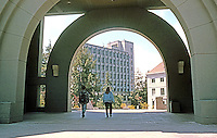 Charles Moore: U.C. Berkeley. School of Business.   Photo  '98.