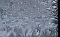 &quot;WINDOW CRYSTALS-3&quot;<br /> <br /> Ice designs in window panes