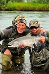 Fly Fishing in Reel Action, Alaska