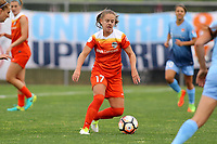 Piscataway, NJ - Saturday May 20, 2017: Andressa during a regular season National Women's Soccer League (NWSL) match between Sky Blue FC and the Houston Dash at Yurcak Field.  Sky Blue defeated Houston, 2-1.