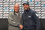 Pre-race press conference semi-final with Luna Rossa