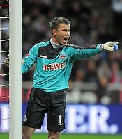 FUSSBALL   1. BUNDESLIGA  SAISON 2011/2012   17. Spieltag FC Bayern Muenchen - 1. FC Koeln       16.12.2011 Michael Rensing (1. FC Koeln)