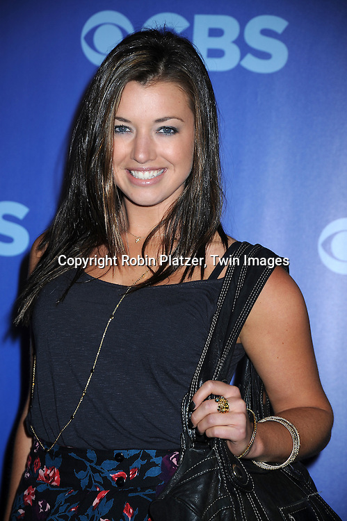 "Parvati Shallow of ""Survivor""attending the CBS Network 2010 Upfront on May 19, 2010 at Lincoln Center in New York city."