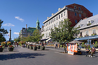 Place Jacques Cartier in Old Montreal, Quebec