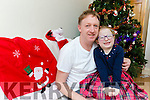 Little Clodagh O'Shea Killorglin with her dad Tim who donated a kidney to her last month