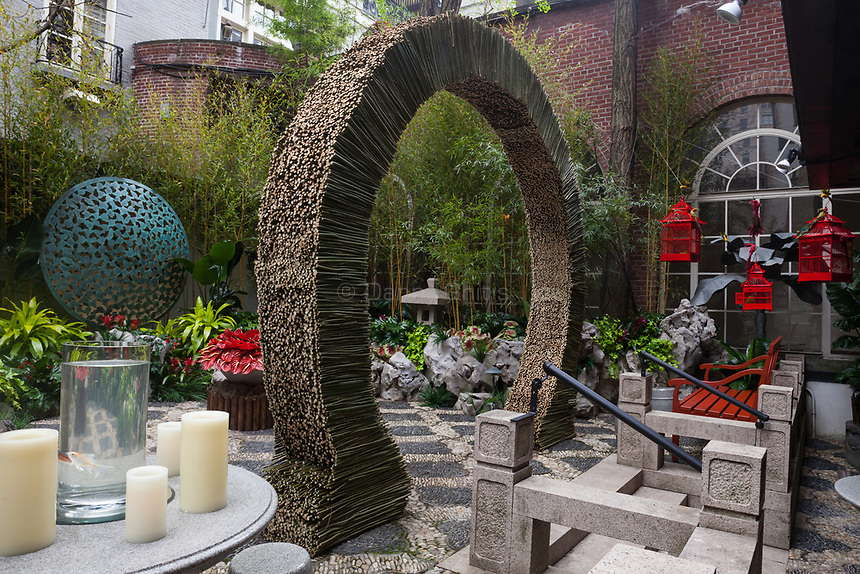 Design by Janice Parker Landscape Architects at The 45th Kips Bay Decorator Show House, at 125 East 65th St. <br /> <br /> Danny Ghitis for The New York Times