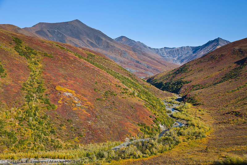 Headwaters of the Dietrich River, Brooks range, arctic, Alaska.