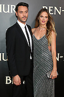 """HOLLYWOOD, CA - AUGUST 16: Jack Huston, Shannan Click at the LA Premiere of the Paramount Pictures and Metro-Goldwyn-Mayer Pictures title """"Ben-Hur"""", at the TCL Chinese Theatre IMAX on August 16, 2016 in Hollywood, California. Credit: David Edwards/MediaPunch"""
