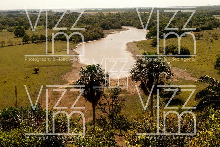 PUERTO LOPEZ-COLOMBIA-15-12-2010.Paisaje del Llanero en Puerto Lopez, Departamento del Meta, enero 15 de 2010. A  landscape in Puerto Lopez, on January 15, 2010 (Photo: Luis Ramirez)..