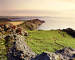 Garn Fawr, Iron Age Hillfort, Strumble Head, Pembrokshire Wales. Celtic Britain published by Orion.
