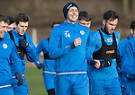 St Johnstone Training&hellip;03.02.17<br />Joe Shaughnessy pictured during training this morning at McDiarmid Park ahead of Sunday&rsquo;s game against Celtic.<br />Picture by Graeme Hart.<br />Copyright Perthshire Picture Agency<br />Tel: 01738 623350  Mobile: 07990 594431