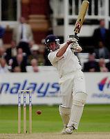 Photo Peter Spurrier.31/08/2002.Cheltenham & Gloucester Trophy Final - Lords.Somerset C.C vs YorkshireC.C..Yorkshire batting;   Antony McGrath.