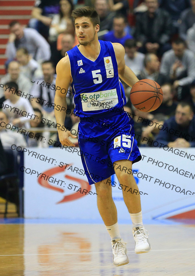 Kosarka ABA League season 2014-2015<br /> Partizan v Zadar<br /> Juraj Segaric<br /> Beograd, 15.03.2015.<br /> foto: Srdjan Stevanovic/Starsportphoto&copy;