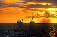 Palau Micronesia sunset