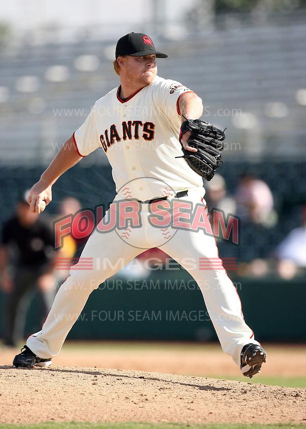 Jason Stoffel - Scottsdale Scorpions - 2010 Arizona Fall League.Photo by:  Bill Mitchell/Four Seam Images..