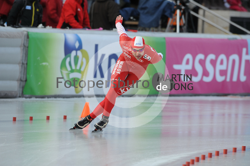 SCHAATSEN: BOEDAPEST: Essent ISU European Championships, 08-01-2012, 1500m Men, Zbigniew Brodka POL, ©foto Martin de Jong