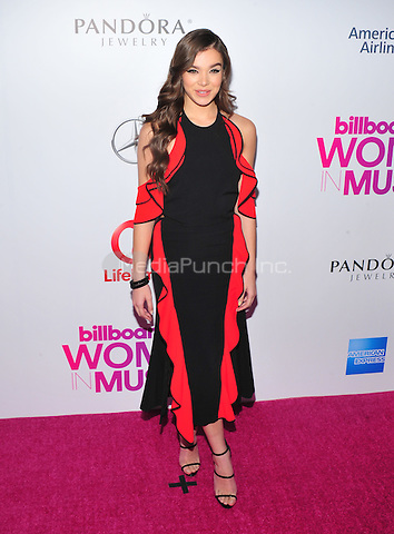 NEW YORK, NY - DECEMBER 9 : Hailee Steinfeld at the 11th Annual Billboard's Women In Music Luncheon at Madison Square Garden in New York City on December 9, 2016. Credit: John Palmer/MediaPunch