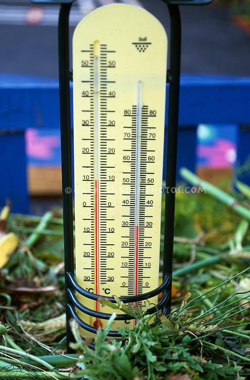 Compost thermometer Celsius for composting bin