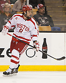 Ben Rosen (BU - 8) - The Northeastern University Huskies defeated the Boston University Terriers 3-2 in the opening round of the 2013 Beanpot tournament on Monday, February 4, 2013, at TD Garden in Boston, Massachusetts.