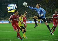 Fussball Bundesliga Saison 2011/2012 1. Spieltag Borussia Dortmund - Hamburger SV V.l.: Heiko WESTERMANN (HSV), Shinji KAGAWA (BVB), Jaroslav DROBNY (HSV).