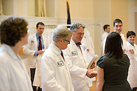 White Coat Ceremony, class of 2015. David Mooney, M.D.