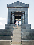 Avala war memorial, Monument of the Unknown Hero, at the top of Avala Mountain, Belgrade, Serbia