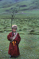 Boy in Deganag valley, Kham, Eastern Tibet, 2005