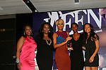 ,Kristi Henderson and  Honoree Keri Hilson, Sabrina Thompson and Valeisha Butterfield-Jones Attend the  at 3rd Annual WEEN Awards Honoring  Estelle, Keri Hilson, Tracy Wilson Mourning, Egypt Sherrod, Danyel Smith and Jennifer Yu Held at  Samsung Experience at Time Warner Center, NY   11/10/11