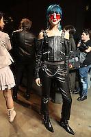 FEB 23 DIESEL BLACK GOLD backstage at Milan Fashion Week