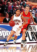 STANFORD, CA - JANUARY 13: Yvonne Gbalazeh of the Stanford Cardinal during Stanford's 78-58 win over the Oregon State Beavers on January 13, 2000 at Maples Pavilion in Stanford, California.