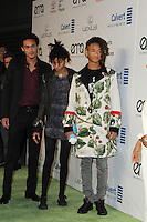 BURBANK, CA - OCTOBER 22: Jaden Smith, Willow Smith, Trey Smith attends the Environmental Media Association 26th Annual EMA Awards Presented By Toyota, Lexus And Calvert at Warner Bros. Studios on October 22, 2016 in Burbank, California (Credit: Parisa Afsahi/MediaPunch).