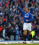 Rangers v Celtic 7.12.2002: Ronald de Boer celebrates his goal