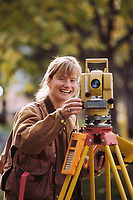 Surveyor Michelle Vlah, University of Alaska, Fairbanks