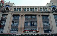 Movie Theatre: San Antonio--Texas Theater Marquee. Photo '88.