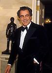 Actor Maximilian Schell at the White House on February 28, 1984 for State Dinner honoring Austrian President Kirschläger.