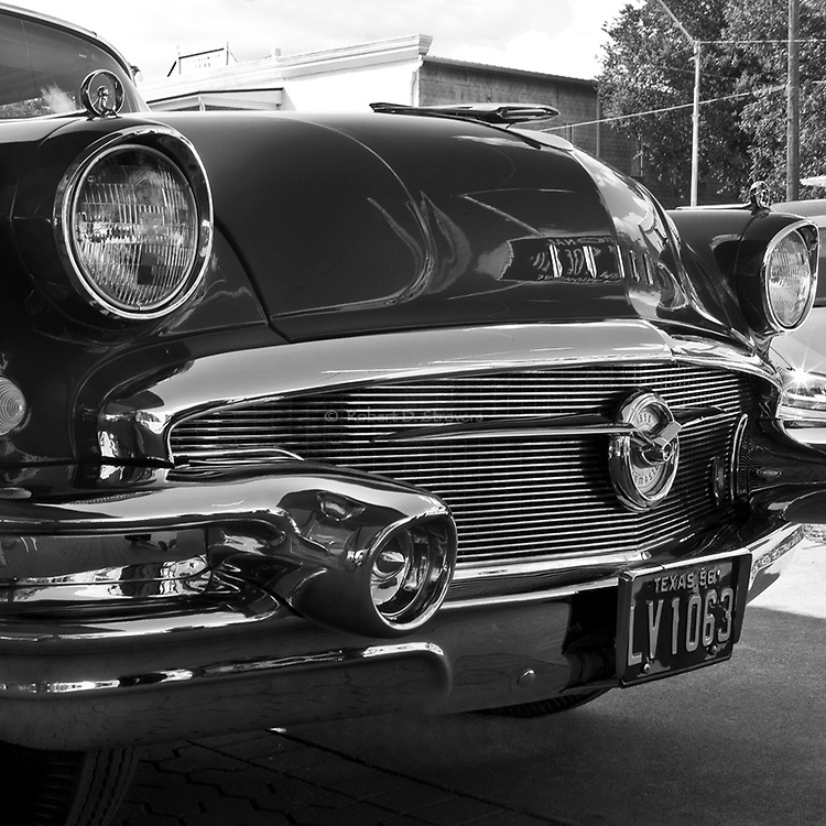classic american cars in black and white artistic. Black Bedroom Furniture Sets. Home Design Ideas